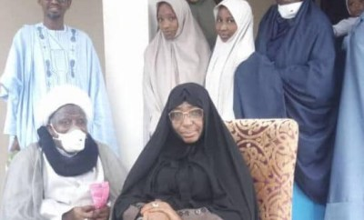 El-Zakzaky and wife leave for India
