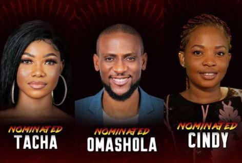 #BBNaija: Cindy, Omashola, Tacha, six others?nominated?for possible Eviction?