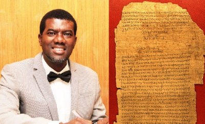 Jesus is not God - Reno Omokri