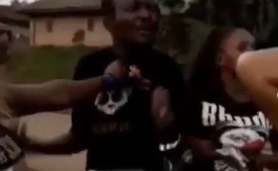 Three female friends team up to beat up a man in Cameroon after they discover he