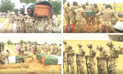 Boko Haram: Soldiers killed in Jakana ambush, buried