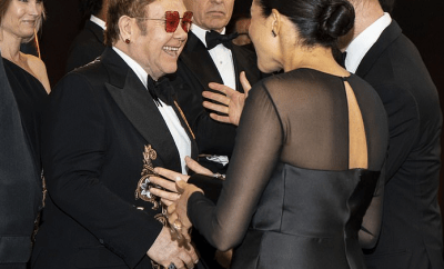 Elton John defends The Sussexes as he reveals he paid for them to fly to his mansion by private jet and made a