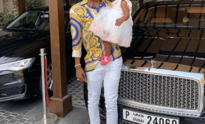 Patoranking celebrates daughter