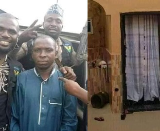 Photos: See the house Hamisu Wadume was hiding in before his arrest
