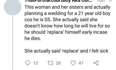 Outrage as 21-year-old boy is allegedly being married off because he has the SS genotype