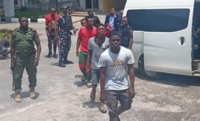 9 yahoo boys remanded in prison