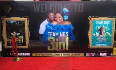 First photos from Toyin Abraham