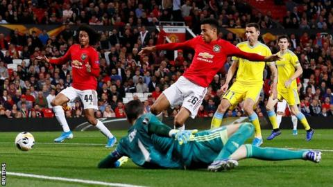 Europa League: Greenwood Grabs First Goal For Man United In 1 0 Win Over Astana