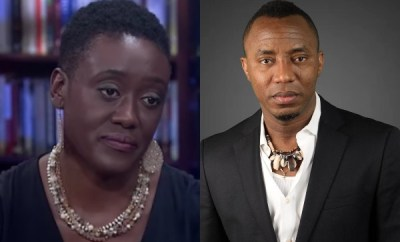 Nigerian government has no grounds to hold my husband - Sowore?s wife, Opeyemi