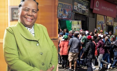 Many Nigerians in South Africa are drug dealers - Foreign Affairs Minister, Naledi Pandor (video)