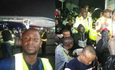 Xenophobia: 187 Nigerians arrive Nigeria, South African Government bring up new rules to stop evacuation (video/photos)
