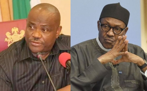 Use tribunal victory to work for all Nigerians - Governor Nyesom Wike congratulates President Buhari