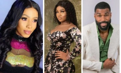 BBNaija: Moment Mike, Mercy and Omashola talked about Tacha having body odour (videos)