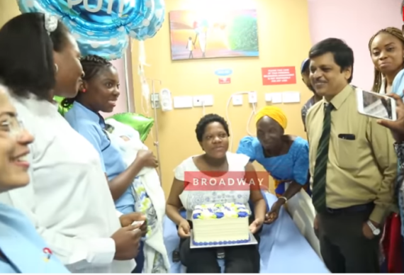 Video: I had my baby in a hospital in Lekki- Toyin Abraham shuts down Liz Anjorin