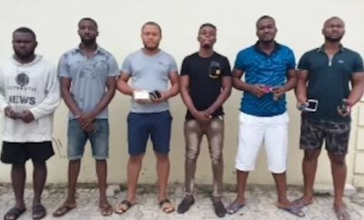 Photos:?Prison inspector, 5 others arrested for massive ATM and SIM swap fraud