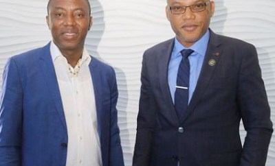 I have presented Biafra?s case and Sowore?s detention to the United Nations -?Nnamdi Kanu