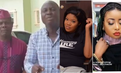 Mr Latin and Yinka Quadri sends out last warning to Lizzy Anjorin and Toyin Abraham over social media fight (video)