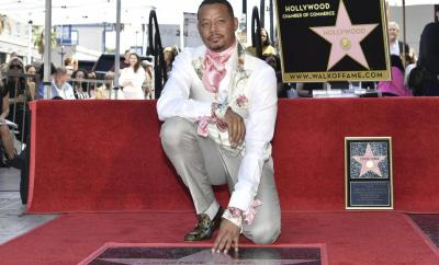 Empire star Terrence Howard receives a star on the Hollywood Walk Of Fame (Photos)