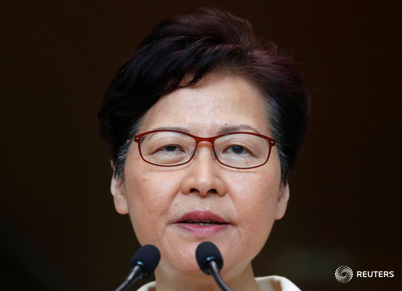 Hong Kong Carrie Lam Beijing She Young But