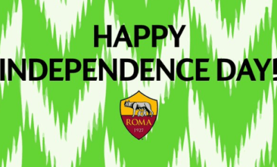 Football club A.S. Roma wished Nigerians a happy independence day in the most hilarious way