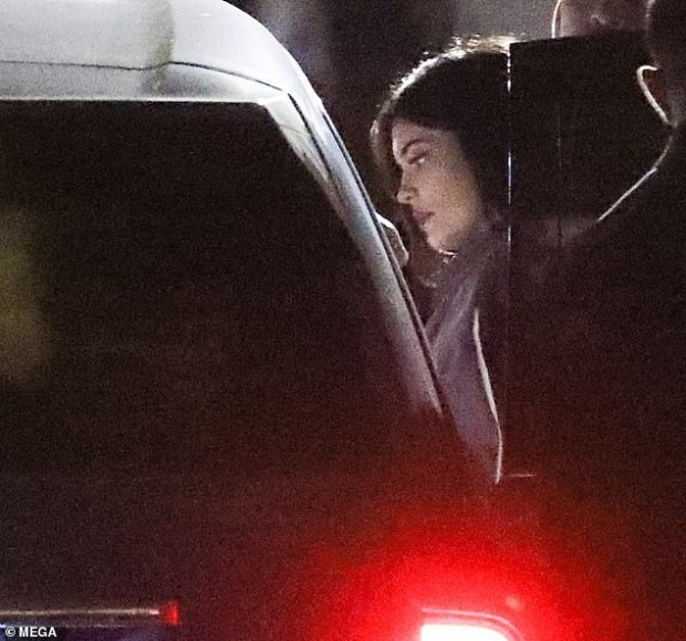 Kylie Jenner spotted at ex-boyfriend Tyga
