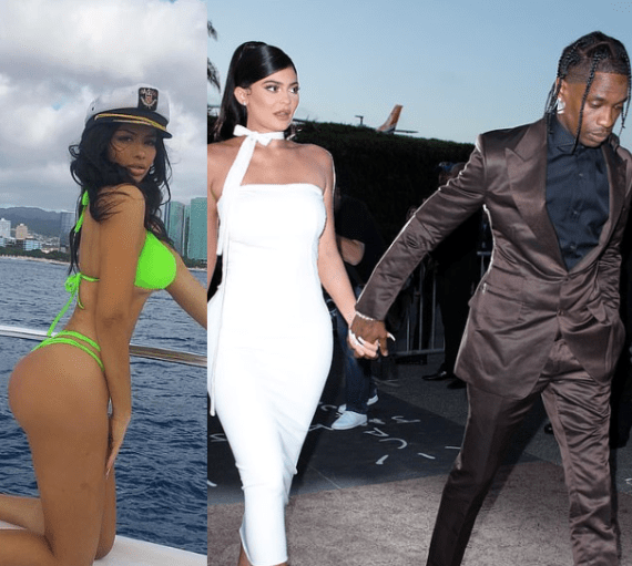 Woman rumoured to be the cause of Travis Scott and Kylie Jenner