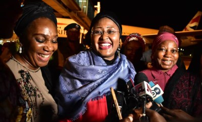 Why I stayed for so long abroad ? Aisha Buhari