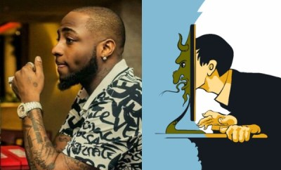 Between Davido and a troll who made his voice a problem