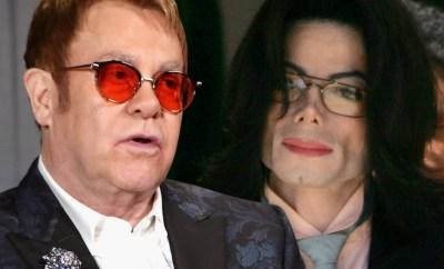 Elton John calls Michael Jackson