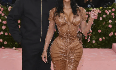 "Kanye West complains to Kim Kardashian about her ""too sexy"" look and she claps back (video)"