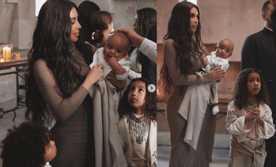 Kim Kardashian shares more adorable photos from baptism in Armenia