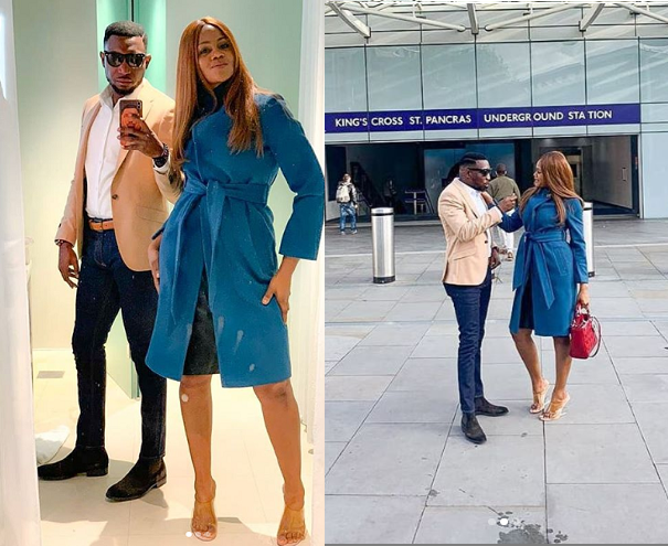 Lovely new photos of Timi Dakolo and his wife Busola in London