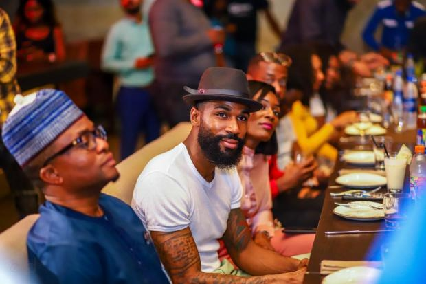 Lipton Ice Tea Presents Prize to BBNaija Season 4 RunnerUp Mike... And a Surprise Gift for His Wife