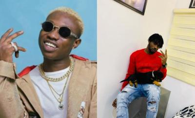 Zlatan Ibile reacts as his DJ names his dog