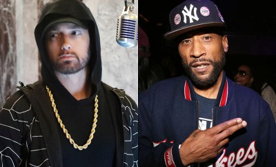 Eminem disses podcaster Lord Jamar on stage for criticizing his music ( Watch Video)