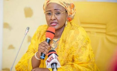Aisha Buhari reacts to #SexForGrades documentary