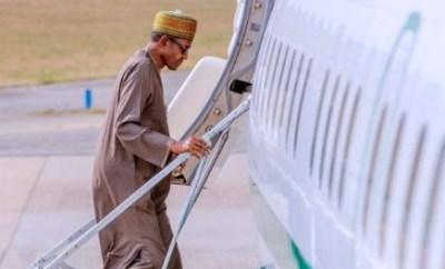 President Buhari leaves Saudi Arabia for UK on 2-week private visit