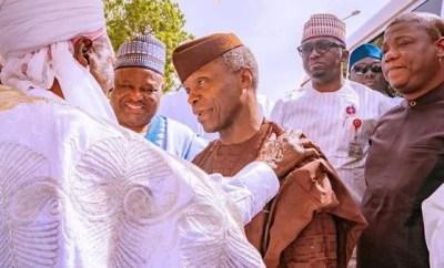 You are the most trustworthy VP ever -?Emir of Daura tells?Osinbajo