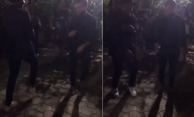 Twitter CEO, Jack Dorsey spotted dancing Soapy (video)