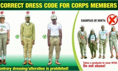 NYSC DG expresses concern over Corps Members