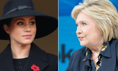Hillary Clinton says she wants to hug Meghan Markle?over