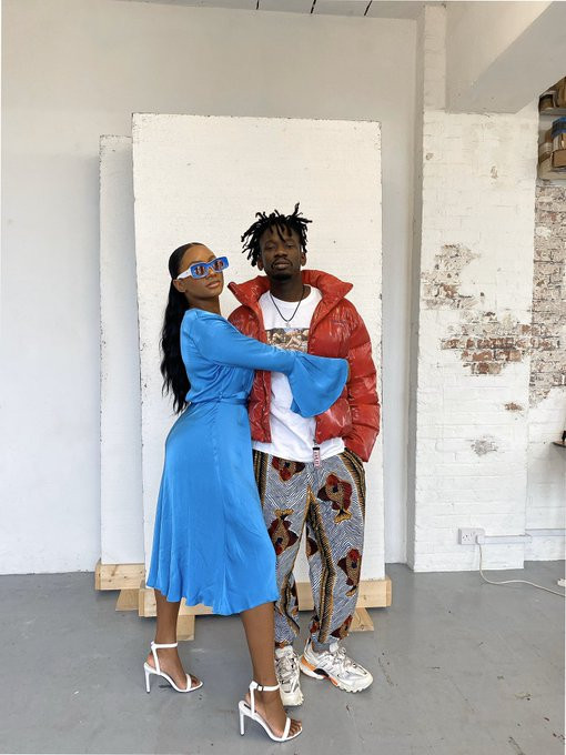 Lovely new photos of Temi Otedola and her boo Mr. Eazi