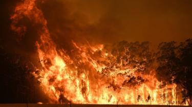 gospers mountain fire, 21/12