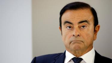 Carlos Ghosn photographed in October 2018