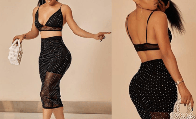 Toke Makinwa showcases her curves in new sexy photos?