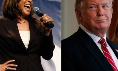 Kamala Harris savagely replies Trump after he made fun of her for leaving the presidential race