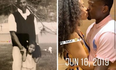 """""""Started as father and daughter, ended as husband and wife"""" woman says as she shares photo of her kissing a man she claims is her father"""