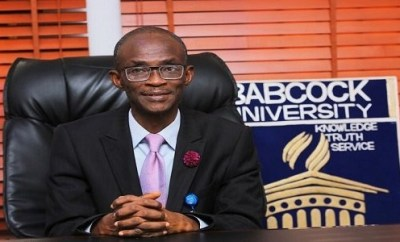Babcock: It is not normal for a young woman to take the manhood of the man and be swallowing- VC Ademola Tayo reveals why lady in the sex tape was expelled