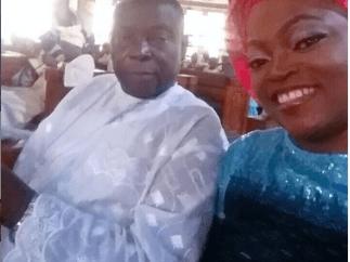 Funke Akindele Bello loses dad