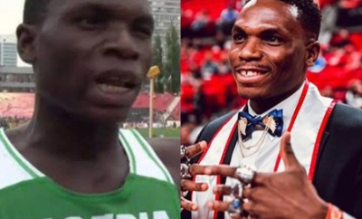 #INeverExperredIt: Divine Oduduru graduates from Texas Tech?University (photos)